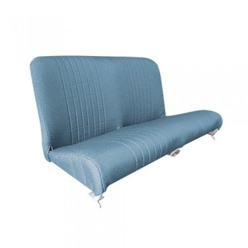 GARNITURE BANQUETTE ARRIERE 2CV EXPORT BLEU DIAMANTE