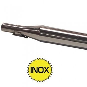 LIGNE ECHAPPEMENT COMPLETE INOX POUR 2CV
