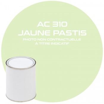 PEINTURE AC 310 JAUNE PASTIS ANNEE 64.65.66.67.68  1 KG