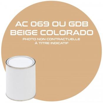 PEINTURE AC 069 OU GDB BEIGE COLORADO ANNEE 82.83.84  1KG
