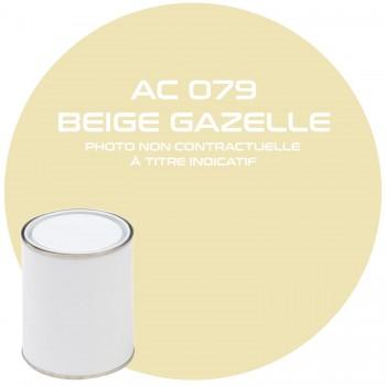 PEINTURE AC079 BEIGE GAZELLE  ANNEE 77.78  1KG