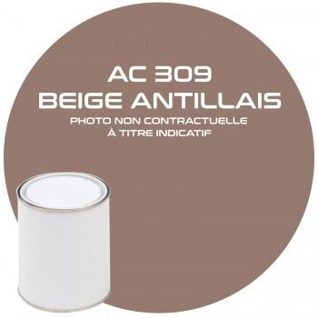 PEINTURE AC 309 BEIGE ANTILLAIS ANNEE 63  1KG