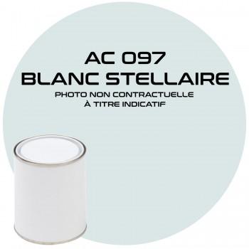 PEINTURE AC 097 BLANC STELLAIRE ANNEE 69  1KG