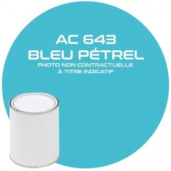 PEINTURE AC 643 BLEU PETREL ANNEE 75.76  1KG