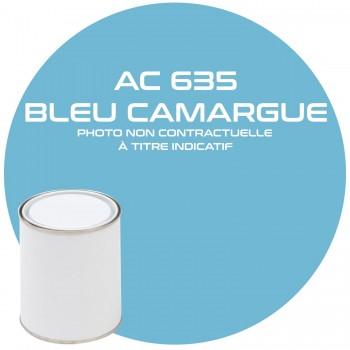 PEINTURE AC 635 BLEU CAMARGUE ANNEE 72.73  1KG