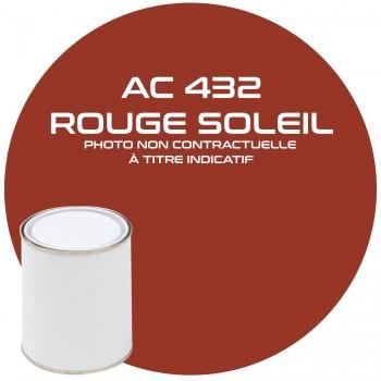 PEINTURE AC 432 ROUGE SOLEIL ANNEE 77  1KG