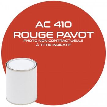 PËINTURE AC 410 ROUGE PAVOT ANNEE 62  1KG