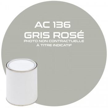 PEINTURE AC 136 GRIS ROSE ANNEE 63.64.65.66.67.68.69  1KG
