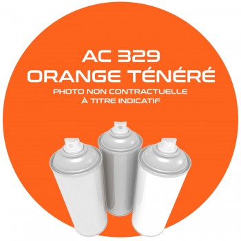 AEROSOL ORANGE TENERE AC 329 ANNEE 79.80 400 ML