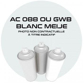 AEROSOL BLANC MEIJE AC 088 OU GWB OU EWT AN 71.83.84.85.86.87.88.89.90. 400 ML