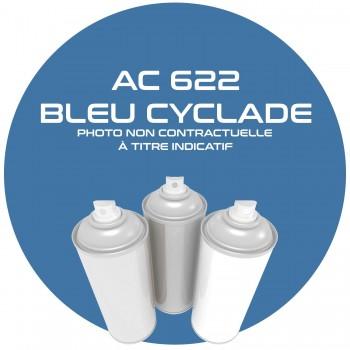 AEROSOL BLEU CYCLADE AC 622 ANNEE 67.68..400 ML
