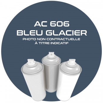 AEROSOL BLEU GLACIER.15437. AC 606 ANNEE 60.61.62.400 ML