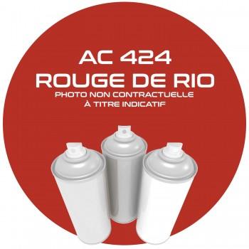 AEROSOL ROUGE DE RIO AC 424 ANNEE 72.73.74.75.400 ML