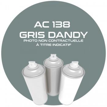 AEROSOL GRIS DANDY.16741. AC 138 ANNEE 67.68.. 400ML