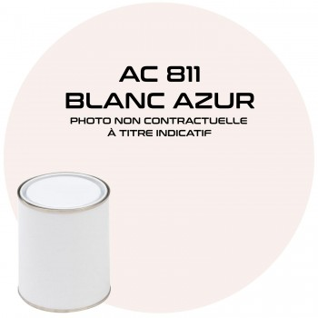 PEINTURE BLANC MEHARI AZUR AC 811 1 KG