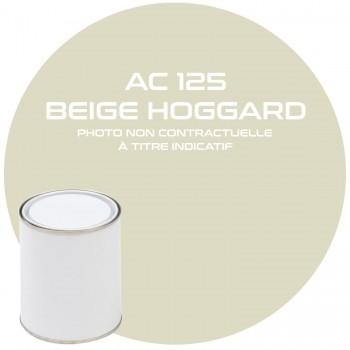 PEINTURE BEIGE HOGGARD AC 125 1 KG