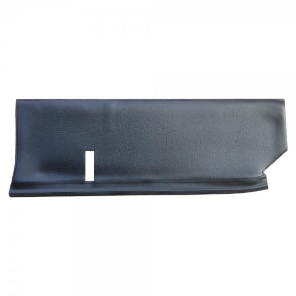 Garniture de tablette D noire sans bourrelet de 1971 à 1990 2cv 2cv 6
