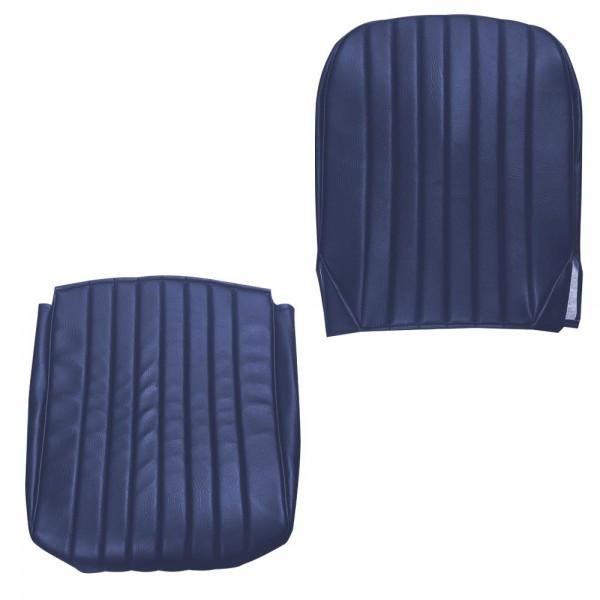 Housse de siège AV- Skaï Bleu mehari mehari 4x4