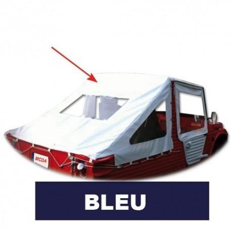 Bache Saharienne Bleu Marine avec transparent AR et Lateraux mehari mehari 4x4