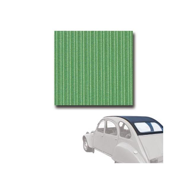 Capote neuve vert tuilerie, fermeture extérieure 2cv 2cv 6