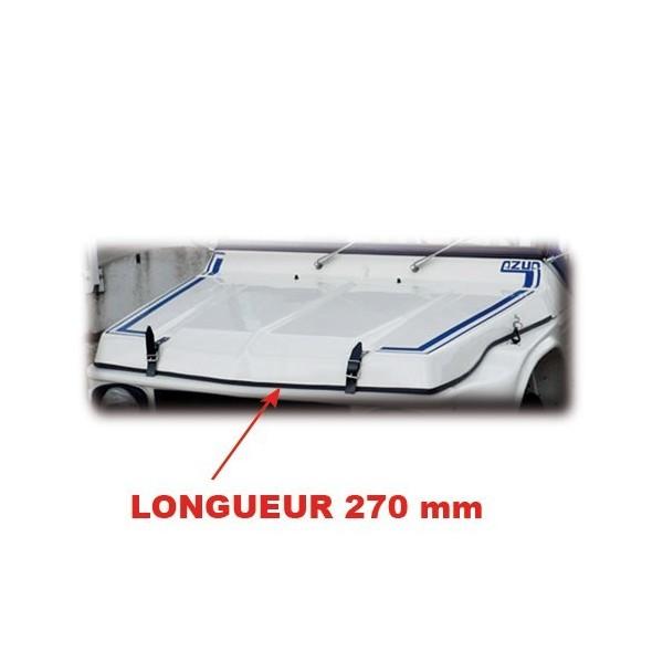 Joint capot ( le tour du capot ) 2.70 mètres. mehari mehari 4x4