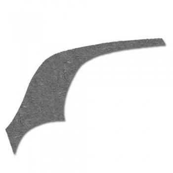 Feutrine latérale G sans vitre custode 2cv
